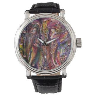 VIVIEN AND MERLIN Pink Purple Fantasy Wrist Watch