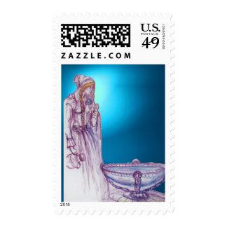 VIVIEN  gem blue Postage