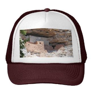 Vivienda de acantilado del castillo de Montezuma - Gorros Bordados
