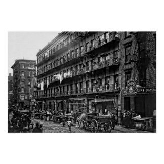 Vivienda de Nueva York - 1912 Poster