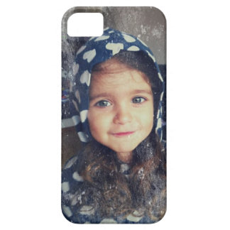 Vivienda hermosa joven iPhone 5 carcasa