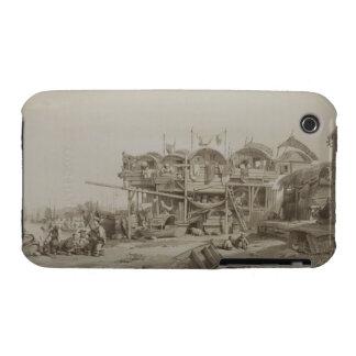 Vivienda para los pobres en el puerto interno de Case-Mate iPhone 3 protector