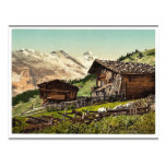 Vivienda suiza, Murren, Bernese Oberland, Switzerl Postal