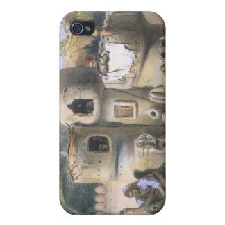 Viviendas campesinas en Egipto superior, ejemplo p iPhone 4/4S Fundas