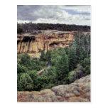 Viviendas de acantilado del Mesa Verde Postal