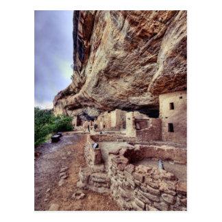 Viviendas de acantilado del Mesa Verde Postales