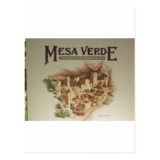 Viviendas del Mesa Verde Anasazi Postal