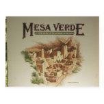 Viviendas del Mesa Verde Anasazi Postales