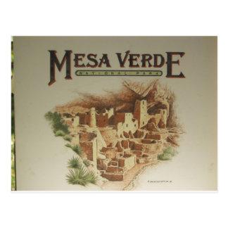 Viviendas del Mesa Verde Anasazi Tarjetas Postales