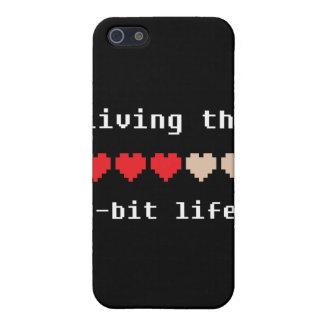 Viviendo el caso de 8 bits del iPhone 4 de la vida iPhone 5 Coberturas