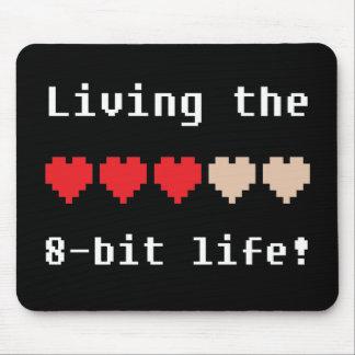 Viviendo el mousepad de 8 bits de la vida tapetes de ratón