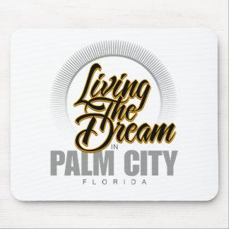 Viviendo el sueño en ciudad de la palma mouse pads