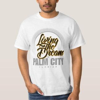 Viviendo el sueño en ciudad de la palma remeras