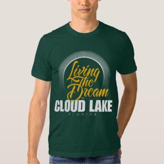 Viviendo el sueño en el lago cloud polera