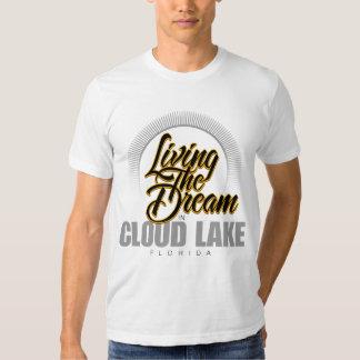 Viviendo el sueño en el lago cloud remeras