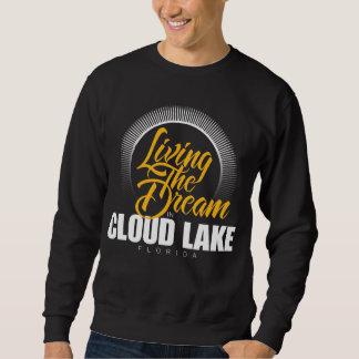 Viviendo el sueño en el lago cloud sudaderas encapuchadas