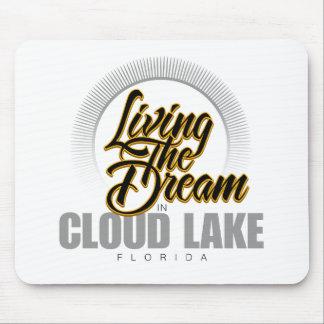 Viviendo el sueño en el lago cloud tapete de ratones