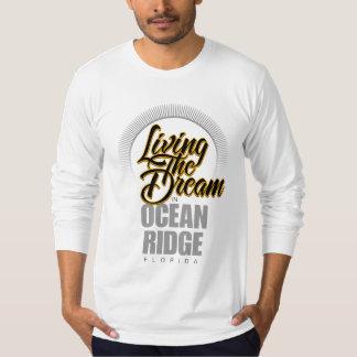 Viviendo el sueño en el océano Ridge Playera