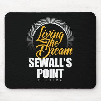 Viviendo el sueño en el punto de Sewall Tapetes De Ratones