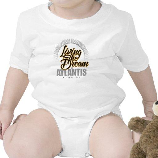 Viviendo el sueño en la Atlántida Trajes De Bebé