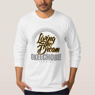 Viviendo el sueño en Okeechobee Playera