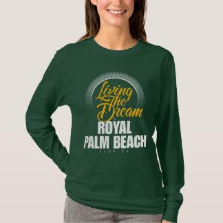 Viviendo el sueño en Palm Beach real Playera