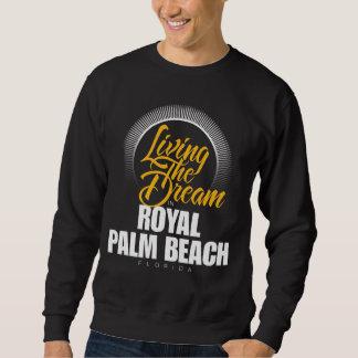 Viviendo el sueño en Palm Beach real Sudadera