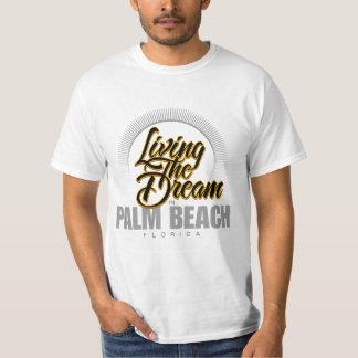 Viviendo el sueño en Palm Beach Remera