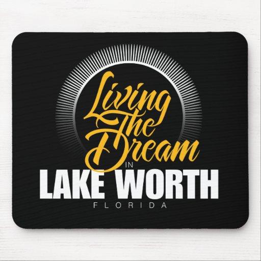 Viviendo el sueño en valor del lago tapete de ratones