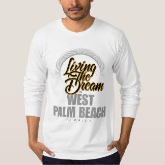 Viviendo el sueño en West Palm Beach Playera