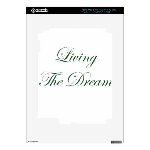 Viviendo el sueño iPad 3 skin