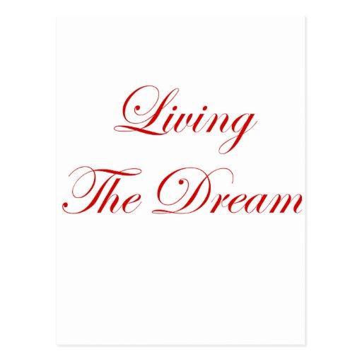 Viviendo el sueño postal