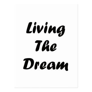 Viviendo el sueño postales