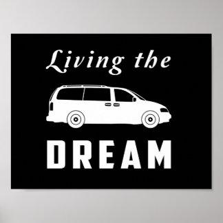 Viviendo el sueño póster