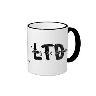 Viviendo el sueño taza de café