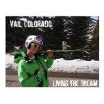 Viviendo el sueño, Vail, Colorado Postales
