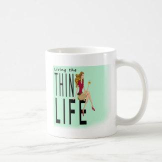 Viviendo la taza fina de la vida