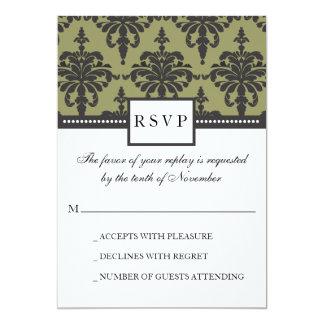 Vivienne Damask RSVP Response Card