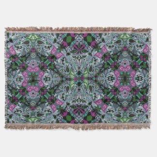 Vivienne Kaleidoscope Throw Blanket