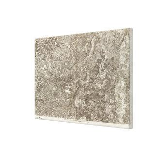 Viviers Canvas Print
