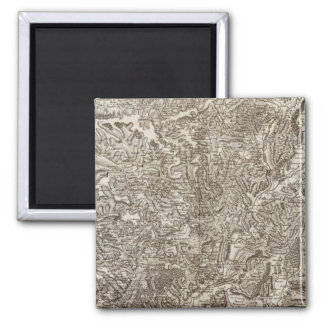Viviers 2 Inch Square Magnet