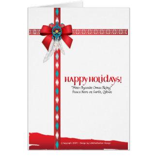 Vivimos colección de Native™ Tarjeta De Felicitación