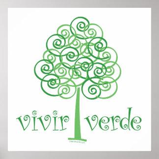 Vivir Verde Poster