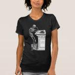 Vivitur Ingenio - esqueleto Camisetas