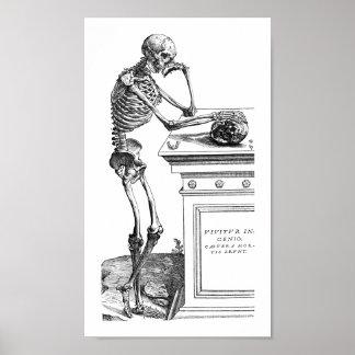 Vivitur Ingenio - esqueleto Poster