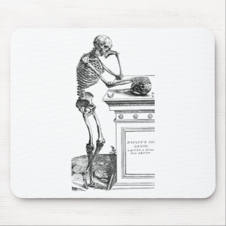 Vivitur Ingenio - Skeleton Mouse Pad