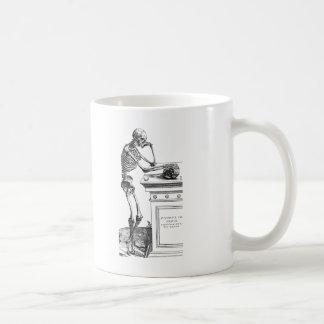 Vivitur Ingenio - Skeleton Classic White Coffee Mug