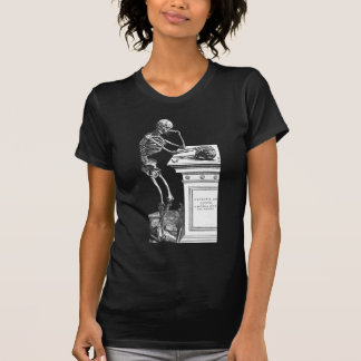 Vivitur Ingenio - Skeleton Tshirt