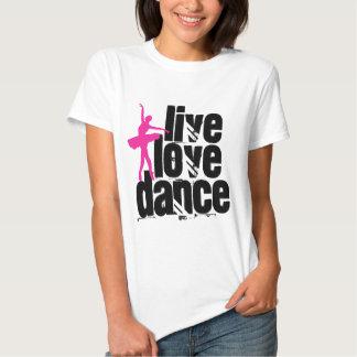 Vivo, amor, bailarina de la danza playeras
