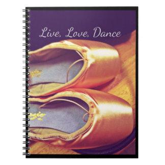 Vivo, amor, cuaderno de Personalizable de la danza